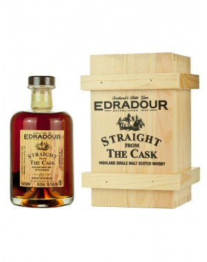 Whisky Edradour 10 ani Straight from the Cask 2007 Sherry Butt