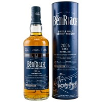 Whisky Benriach 13 ani Cask Bottling Peated/ Oloroso Sherry Cask Finish 2006