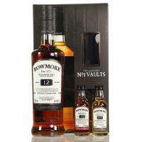 Whisky Bowmore 12 ani The Legendary No 1 Vaults + Minis